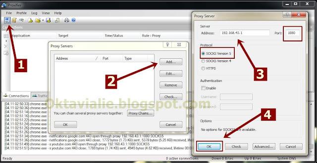 Cara Tahtering Wifi hotspot HTTP Injector Ke PC Tanpa Root