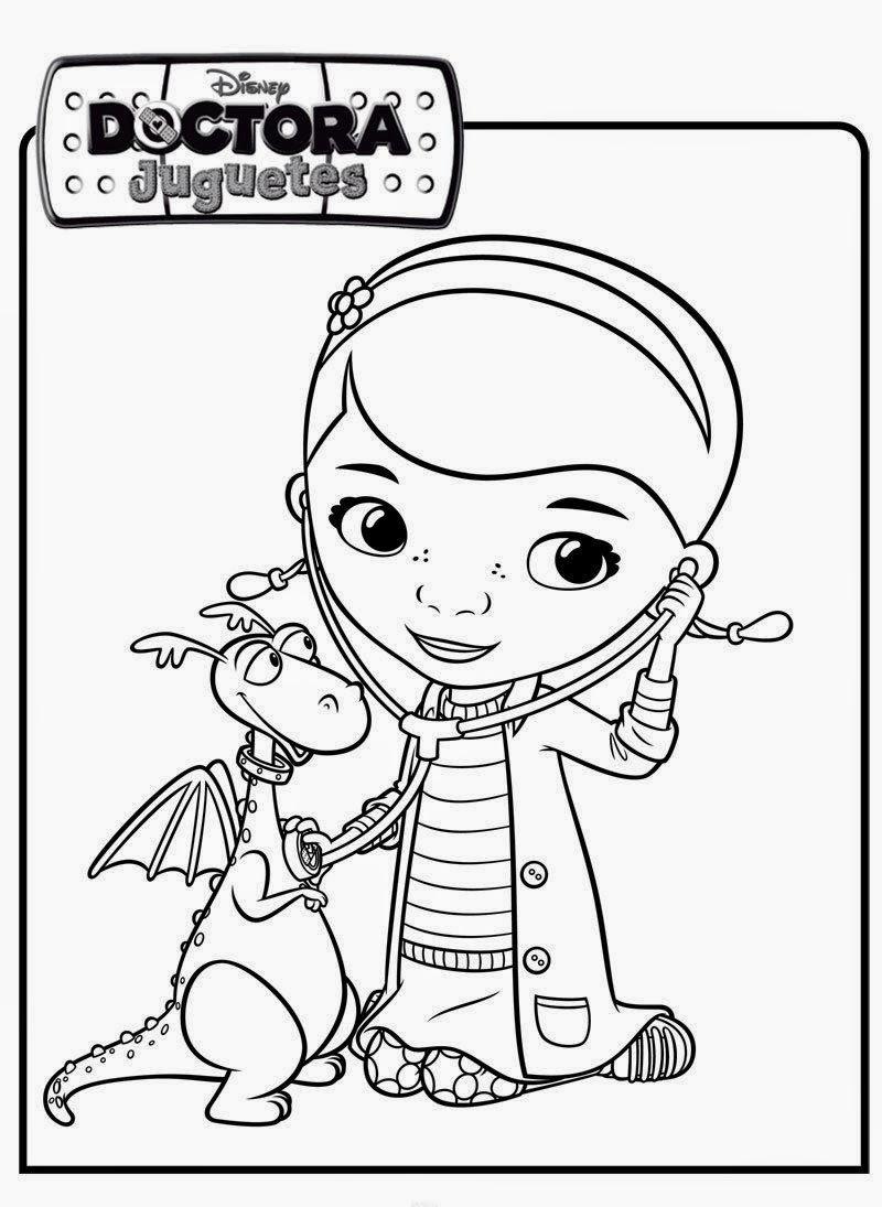 Imagenes De Doctora Juguetes Para Imprimir Y Colorear