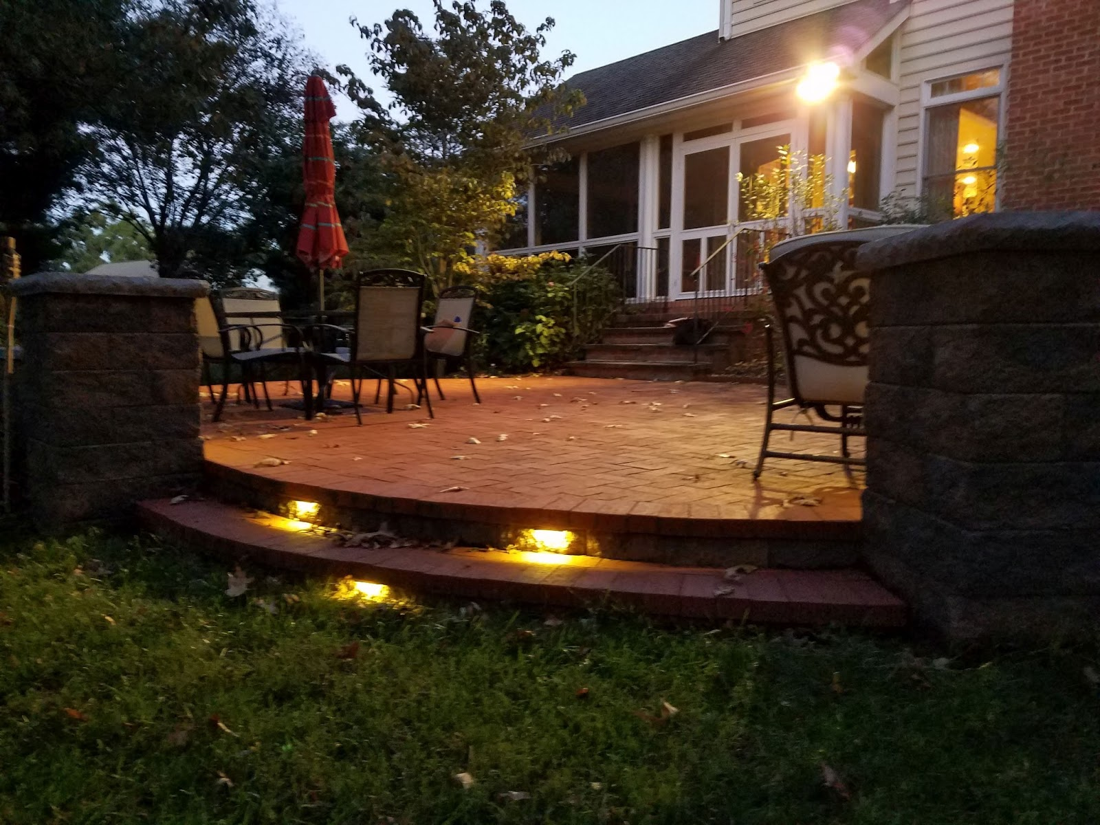 Custom Stoneworks Design Inc We Install Led Low Voltage Lights Wiring A House For Lighting Add Caption