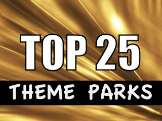 Top 25 Theme Parks in the World
