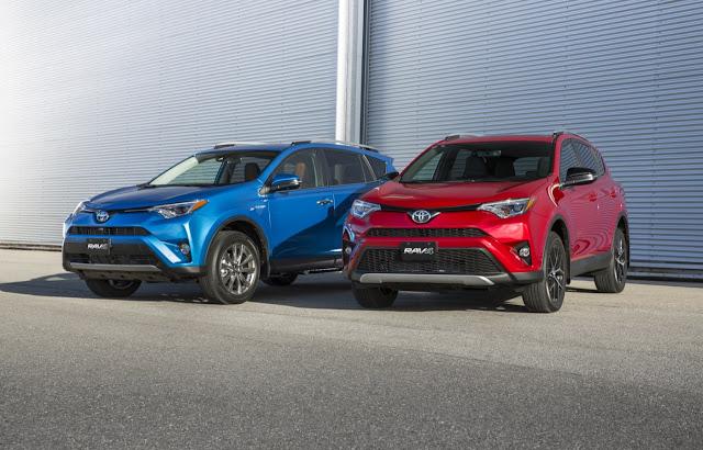 2017 Toyota RAV4 and RAV4 Hybrid
