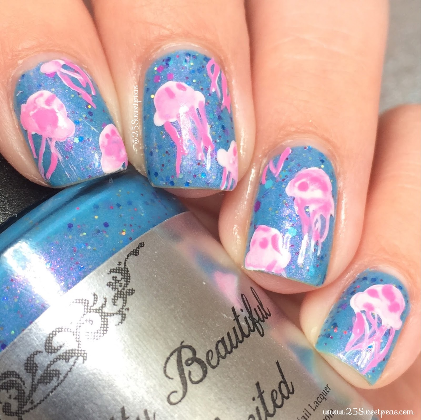 Jellyfish Nails
