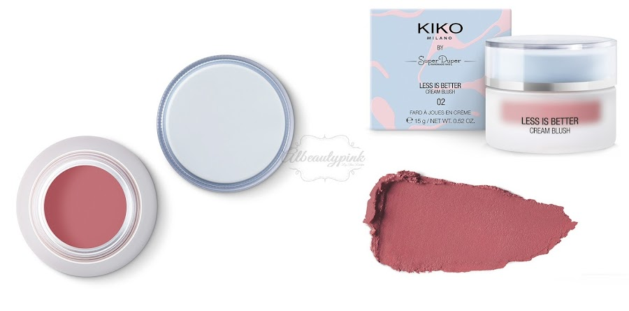 Limited edition less is better by KIKO MILANO Albeautypink 4