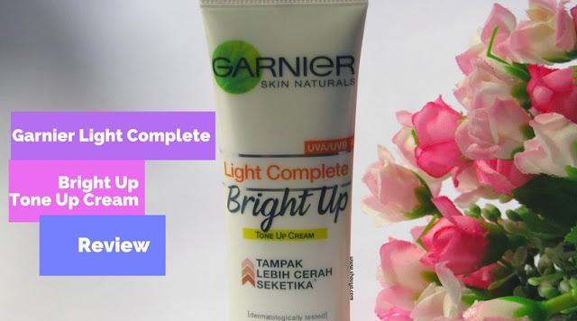 Garnier Light Complete Bright Up - Tampak Lebih Cerah Seketika
