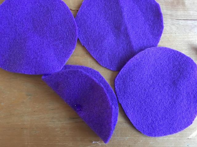 Filzblumen ohne nähen