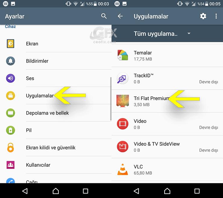 Android telefonda yüklenen uygulamalar nasıl kaldırılır? Android telefonda uygulamaları silme! www.ceofix.com