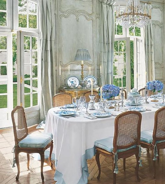 French Style Dining Room: Maries Manor: November 2011