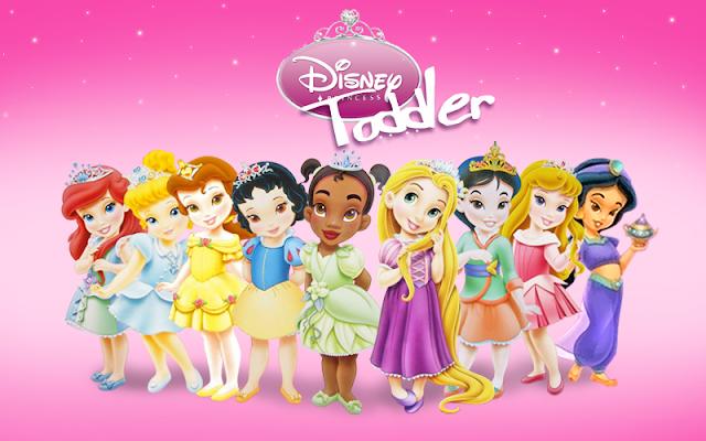 Painel Princesas Baby Disney