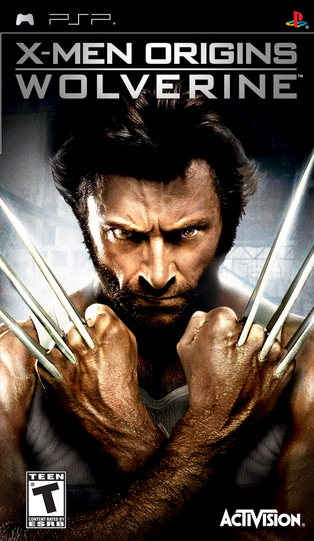 X-Men Origins - Wolverine - PSP - ISO Download