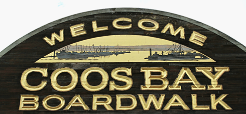 coos bay oregon boardwalk