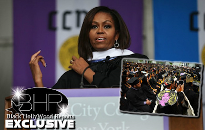 Michelle Obama Gives Final Commencement Speech At The City College Of New York