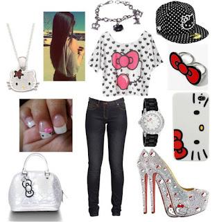 Gambar Baju Hello Kitty Untuk Remaja 3