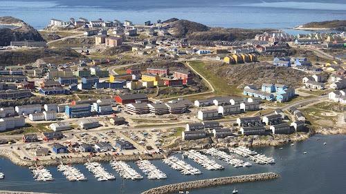 Nuussuaq district - Nuuk aerial