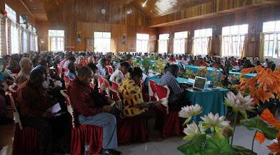 Rapat BPL GIDI ke-53, 90 Persen Mimbar GIDI Berbahasa Daerah
