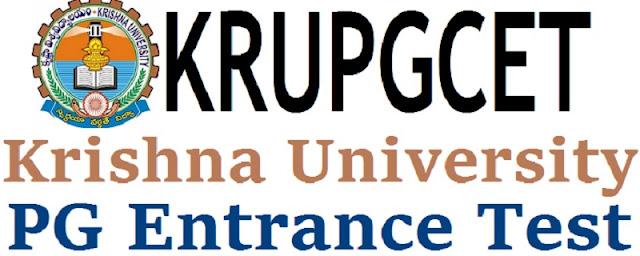 KRUPGCET,online application form,how to appl