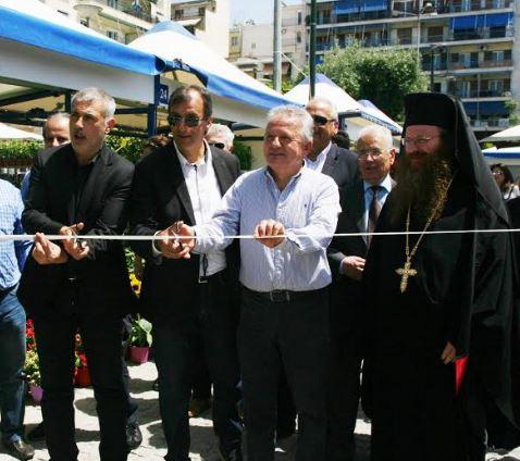 Ο Δήμαρχος Πειραιά εγκαινίασε την 7η Ανθοκομική Έκθεση Πειραιά