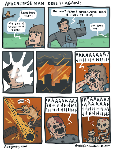 apocalypse man funny webcomic