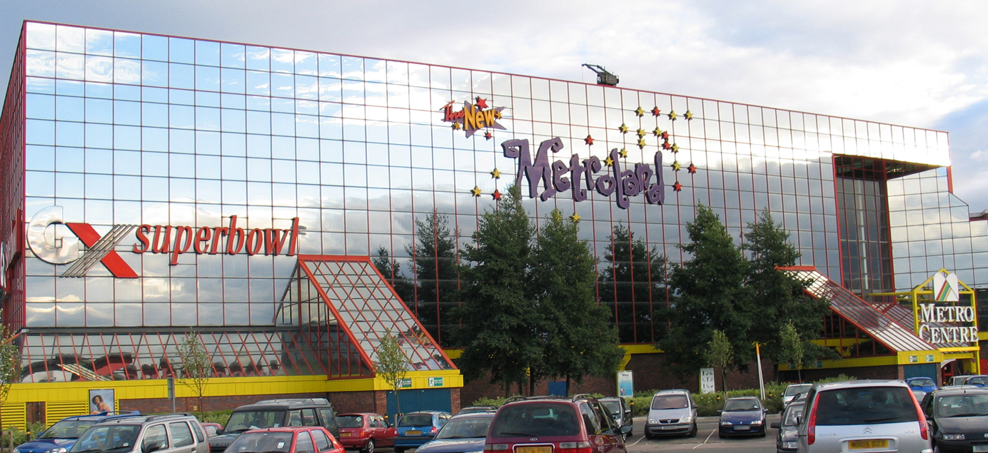 Remembering Metroland with Family Dining and the Kid's Menu at Pizza Express intu Metrocentre - Metroland exterior