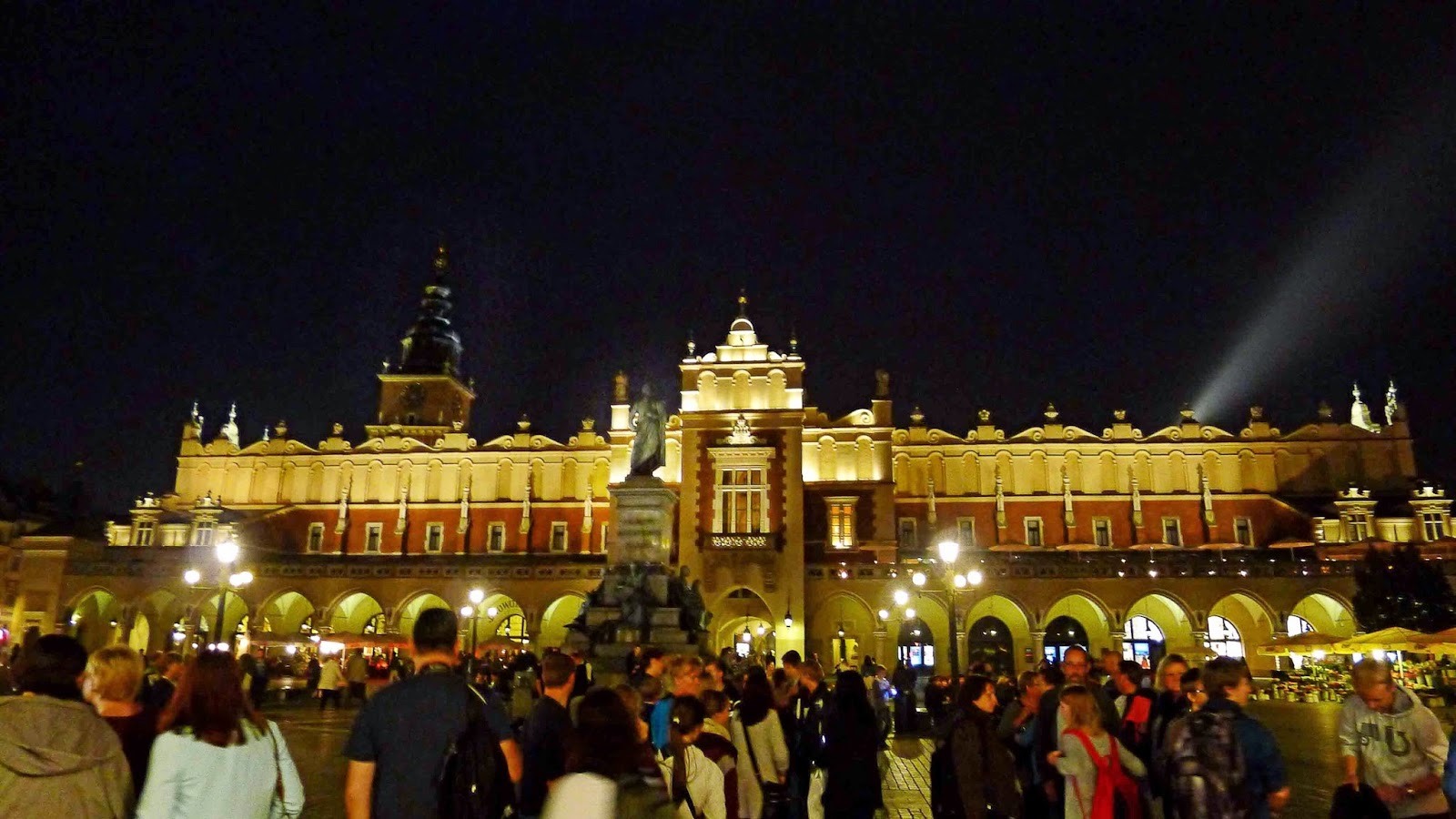 Krakow Cloth Hall at Night