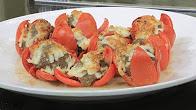 طريقة عمل طماطم محشية لحم مفروم مع الشيف شربيني في الشيف