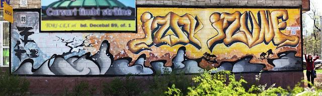 Graffiti, Izzy Izvne