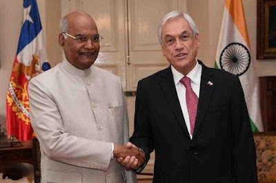 India and Chile Signed Three MoU