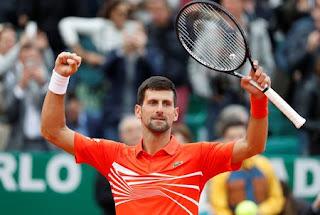 Djokovic beats Kohlschreiber in Monte Carlo