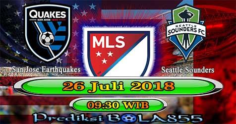 Prediksi Bola855 San Jose Earthquakes vs Seattle Sounders 26 Juli 2018