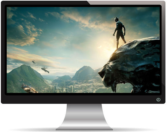 Black Panther Perché sur Tête - Fond d'Écran en Quad HD 1440p