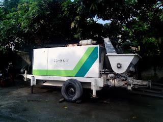 Sewa Pompa Beton / Concrette Pump Labuhan Banten