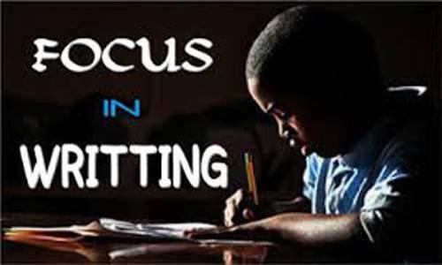 Tips Agar Fokus dalam Menulis Artikel