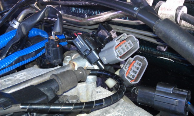 1999 to 2001 VVT Engine Swap Ignition Mostly MIATA