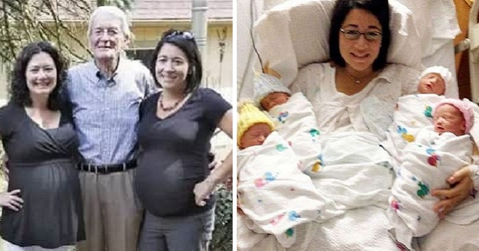 Sisters Carried Twins For The Same Man And Gave Birth On The Same Day