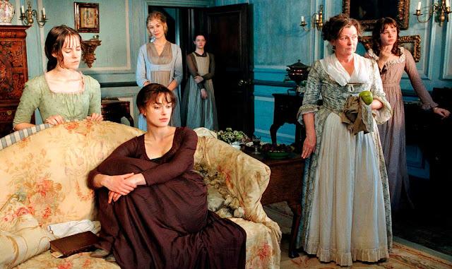 Irmãs Bennets em Orgulho e Preconceito