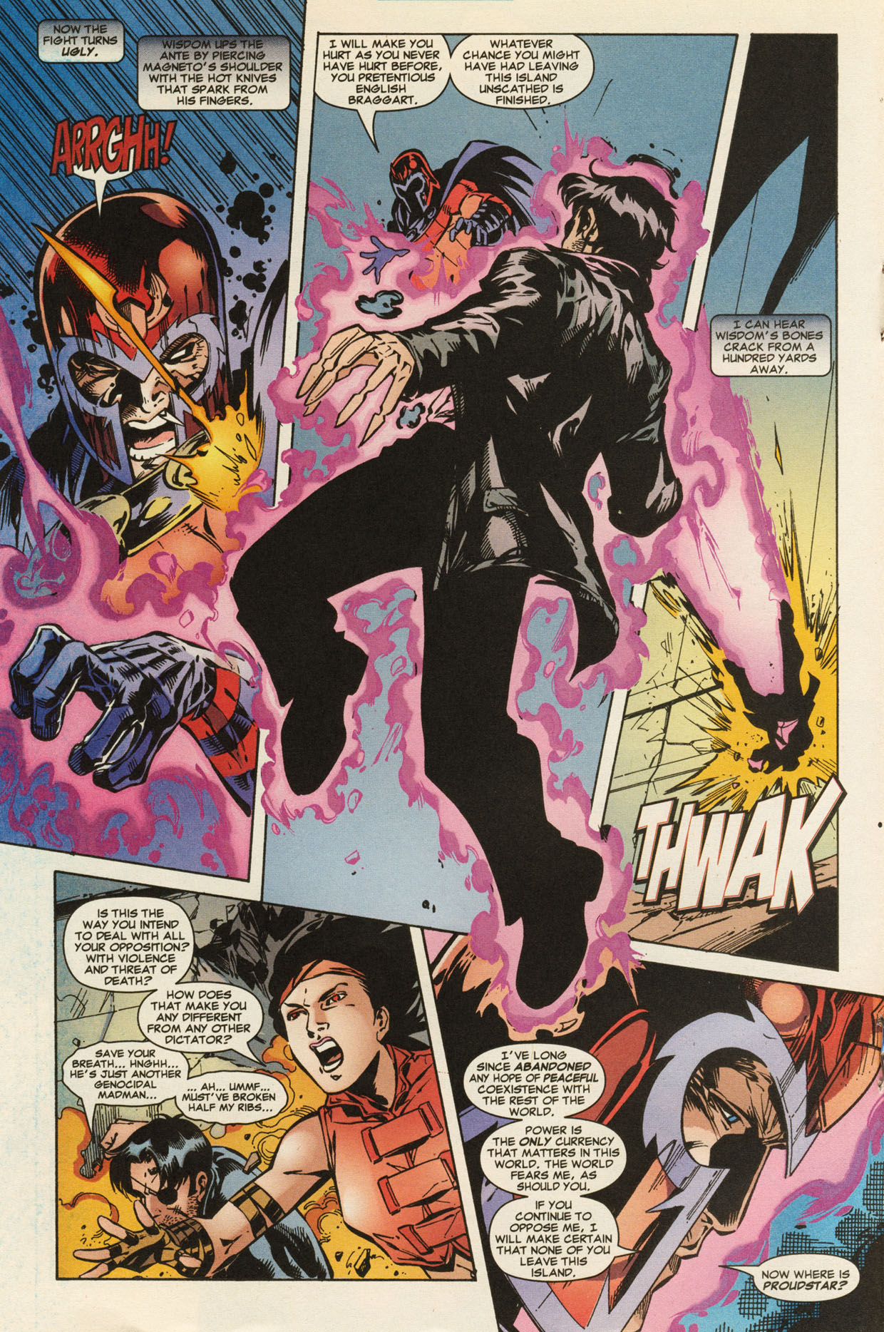 Read online X-Force (1991) comic -  Issue #95 - 17