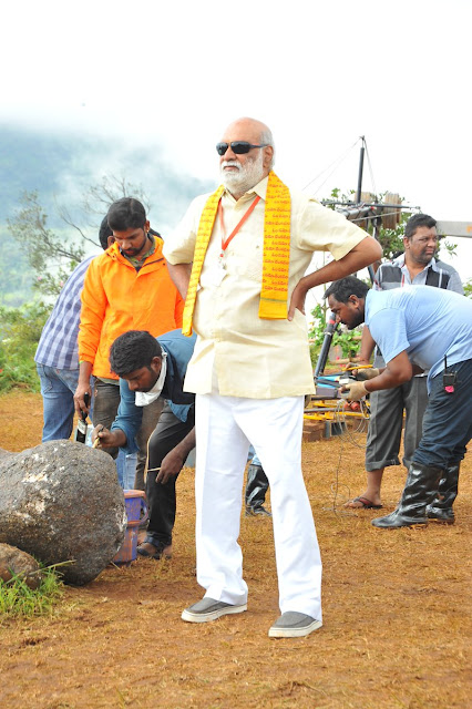 Om Namo Venkatesaya Movie Latest Working Stills