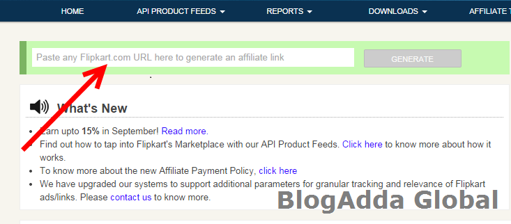 Genrate-Product's-webpage-URL