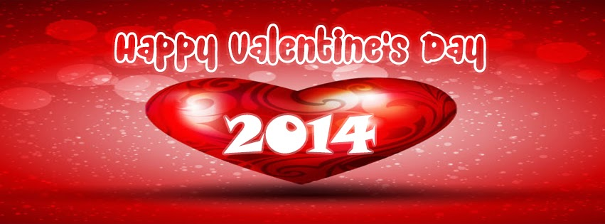 Happy Valetine's Day 2014 Message Facebook Profile Timeline Cover