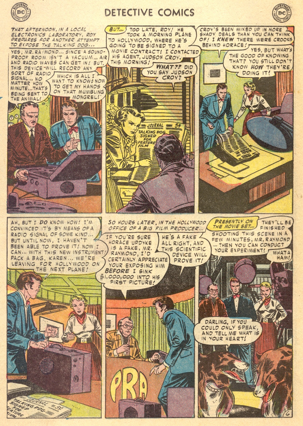 Read online Detective Comics (1937) comic -  Issue #187 - 22