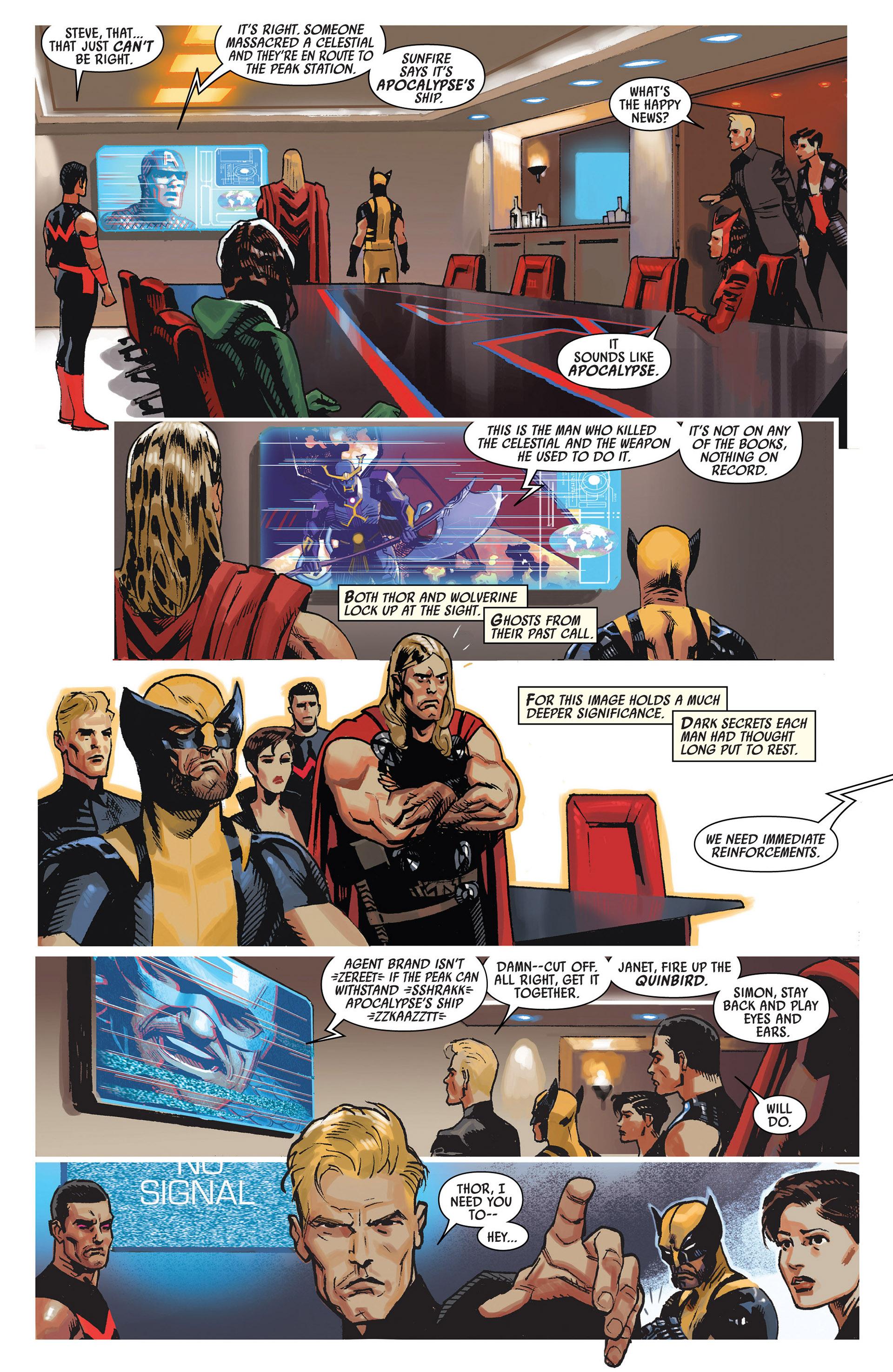 Read online Uncanny Avengers (2012) comic -  Issue #7 - 16