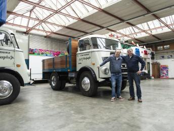 DAF encontra seu caminhão mais antigo em operação