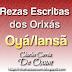 Rezas Escritas do Orixá Oyá/Iansã