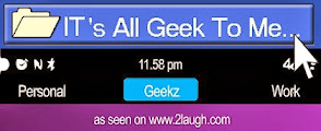 IT's All Geek to Me!