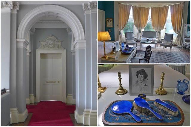 Pasillo y habitación en Castle Leslie Estate