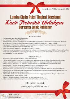 Lomba Menulis Puisi Romantis - Jejak Publisher