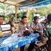 Pantau Situasi Kamtibmas, Bhabinkamtibmas dan Babinsa Simpang Jernih Sambang Desa Bersama