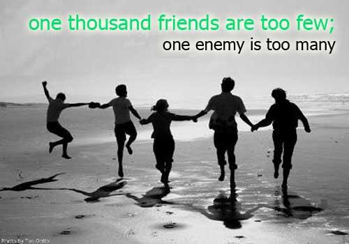 friendship high quality mental health
