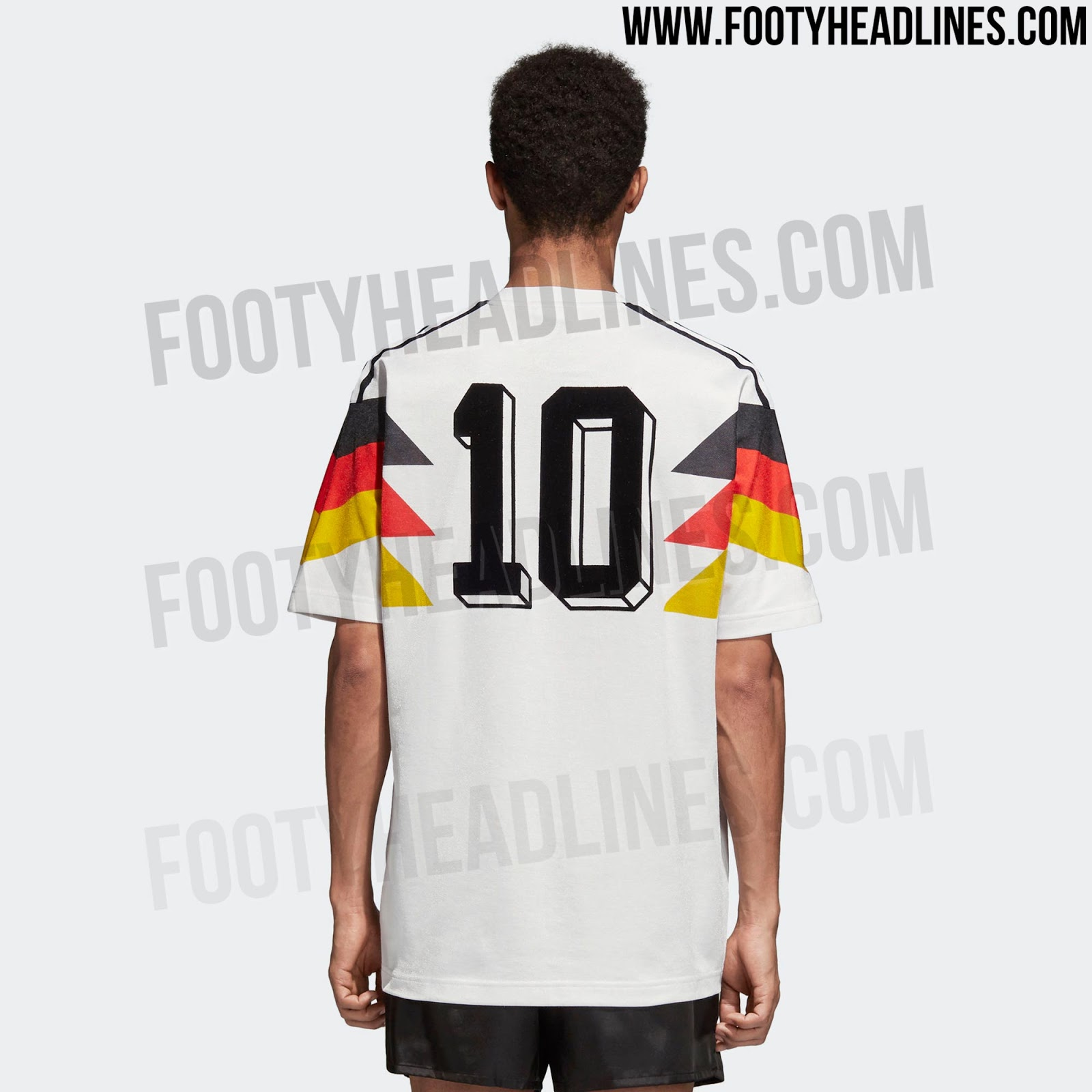 low priced a29f5 638c1 Free Adidas Originals Germany 2018 Retro Jersey Leaked