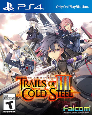 The Legend Of Heroes Trails Of Cold Steel 3 Game Cover Ps4