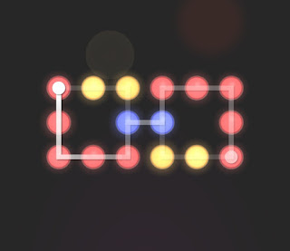 Solution, Cheats, Walkthrough for Neon Hack [Neon Dots] Level 62